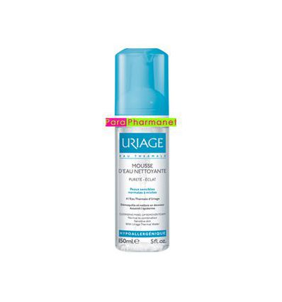 Cleansing make-up remover foam face care Uriage