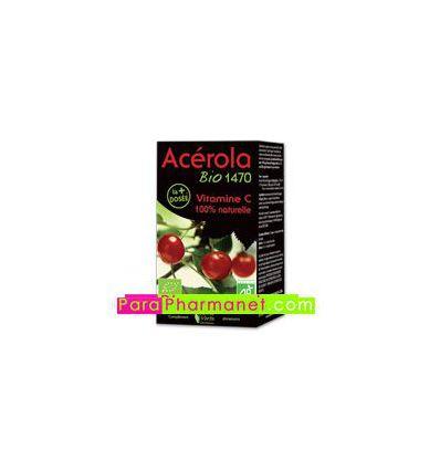 Acérola Bio 1470 mg Vitamine C Comp Santé Verte