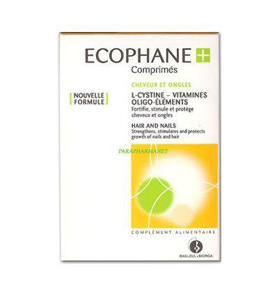 Ecophane Cheveux & Ongles 60 comprimés. BIORGA
