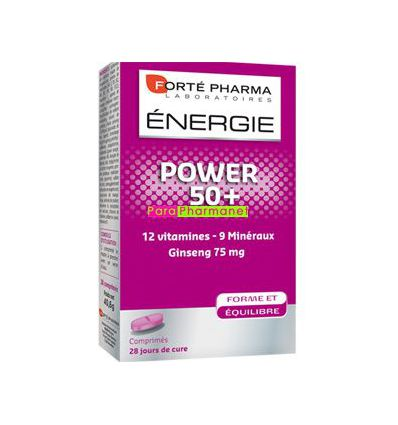 Energie power 50 + 28 cp Forte pharma