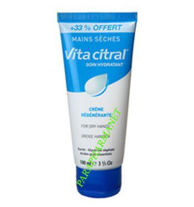 Soin Hydratant Crème Mains Sèches VITA CITRAL