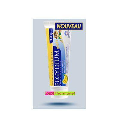 Elgydium Kids toothpaste 2-6 years banana flavour