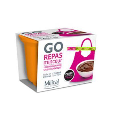 GO Repas express minceur 1 coupelle Chocolat 210 G Milical