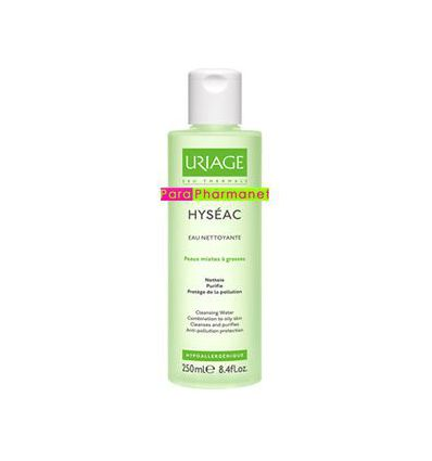 HYSEAC Cleansing water Fl 250ml Uriage face care