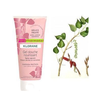 Shower gel nourishing body Fruity Delight Klorane