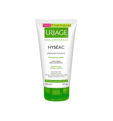 HYSEAC Cleansing cream Uriage oily skin care