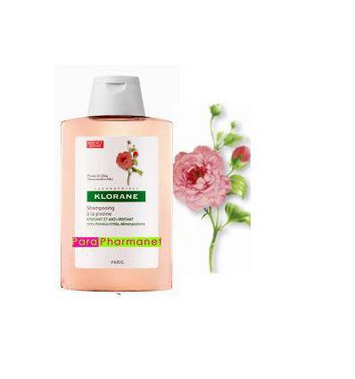 Shampoing à la Pivoine Apaisant et anti-irritant 400 ml Klorane
