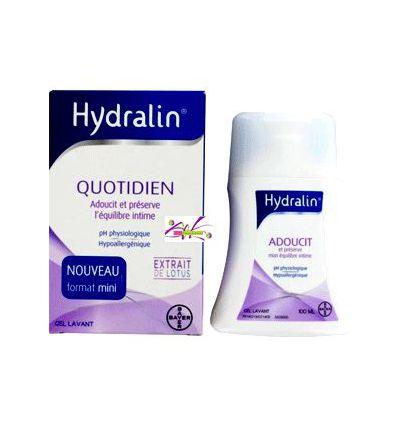 Hydralin Quotidien fl 100 ml hygiène intime gel lavant