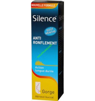 Silence Anti Ronflement Gorge omega pharma