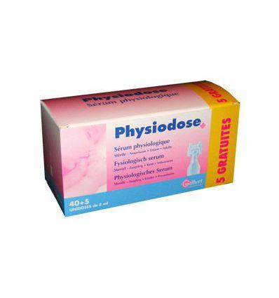 Physiodose. Physiological serum