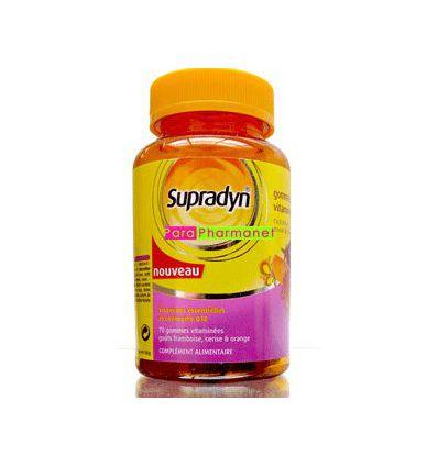SUPRADYN 70 with vitamins gums to GAPE BAYER