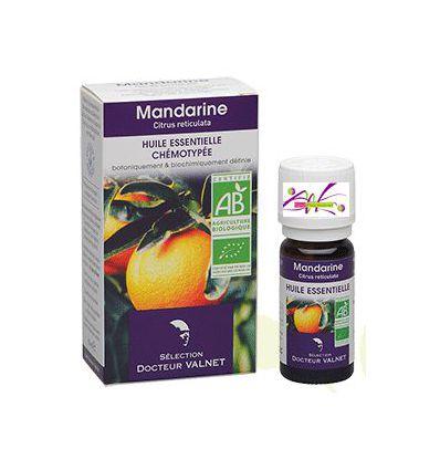 Huile essentielle BIO Mandarine Docteur Valnet