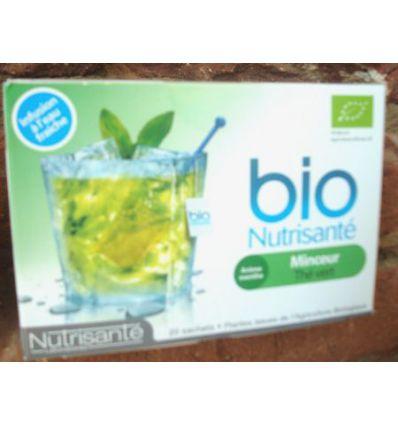 Infusion Minceur Thé vert à l'eau fraîche Bio Nutrisanté
