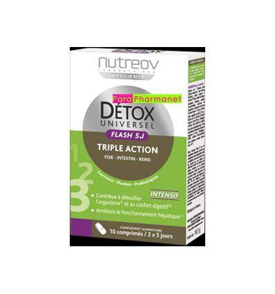 Detox universal Flash 5 days Intensive detox nutreov