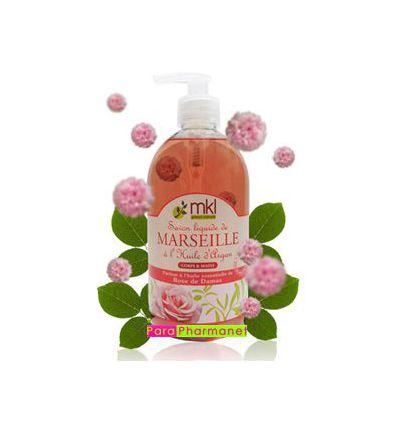 Liquid Soap Rose of Damascus argan oil body& hands MKL