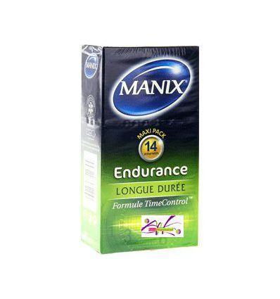 Contact Box of 14 condoms MANIX