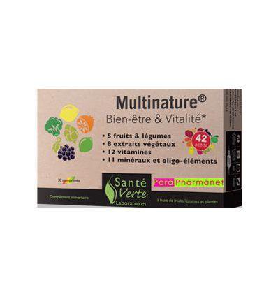 Multinature Bien-être & Vitalité cplmt alim santé verte