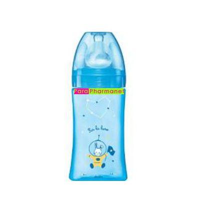 INITIATION blue Feed Bottle 270 ml - 0-7 months DODIE