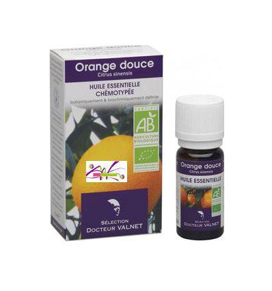 Huile essentielle BIO Orange douce Dr Valnet