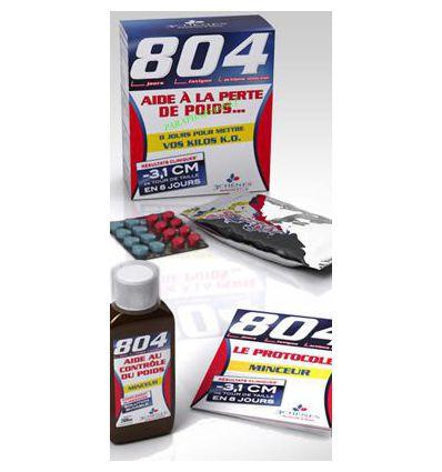 Pack Programme 804 minceur Aide à la perte de poids 3 Chênes