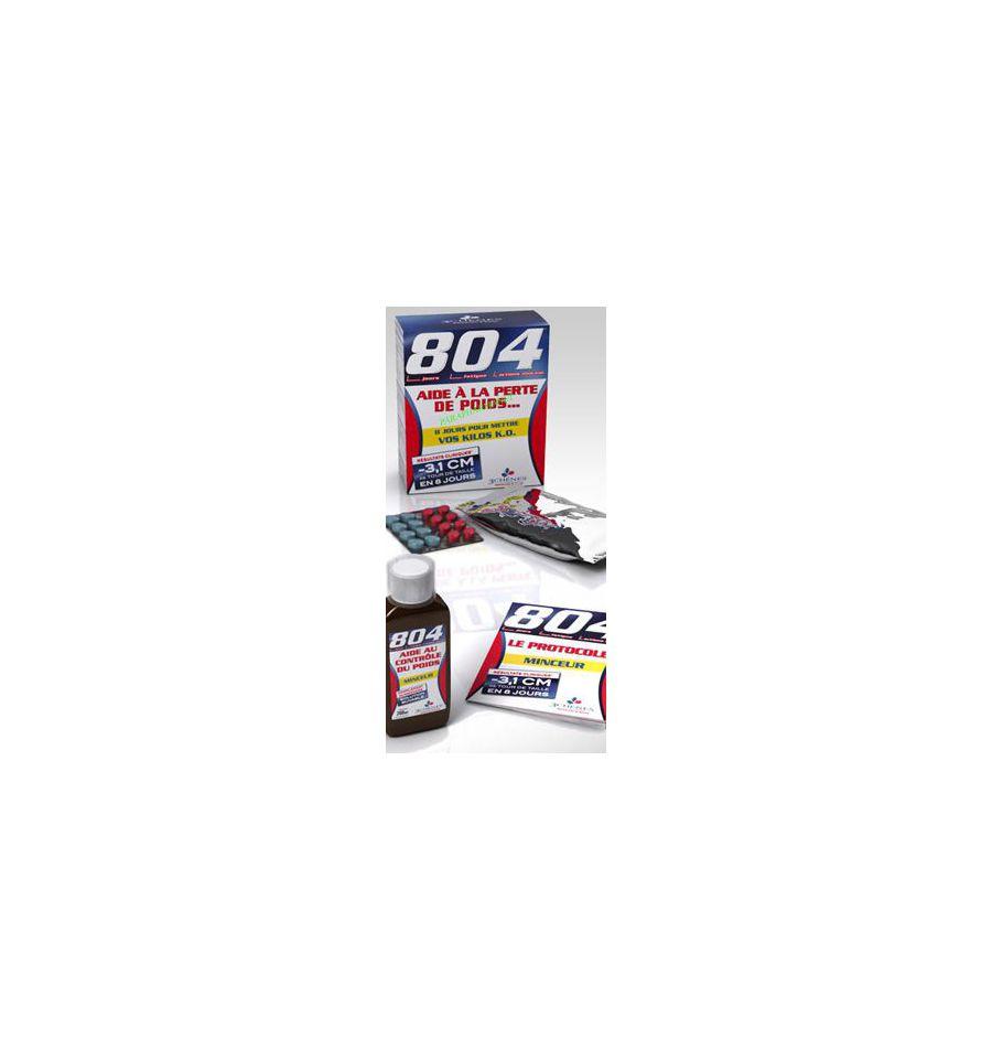 Pack Programme 804 minceur Aide à la perte de poids 3