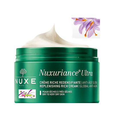 Nuxuriance ULTRA RICH cream day face care anti-ageing NUXE