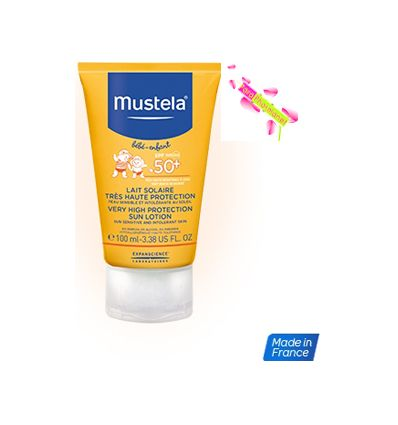 MUSTELA LAIT SOLAIRE PROTECTION SOLAIRE BEBE 50