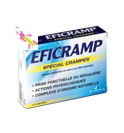 EFICRAMP 30 comprimés spécial crampes