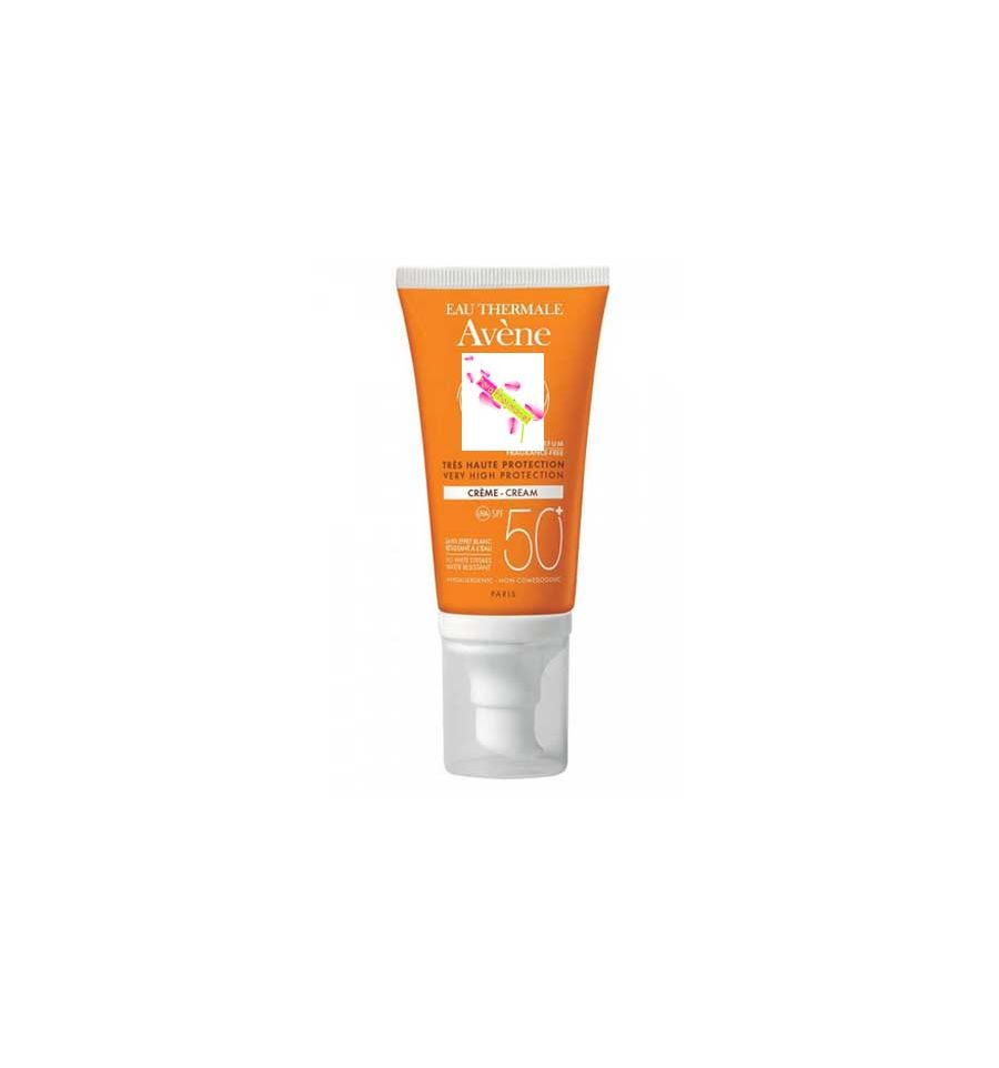 avene cr me solaire spf 50 sans parfum av ne soin solaire visage 50. Black Bedroom Furniture Sets. Home Design Ideas
