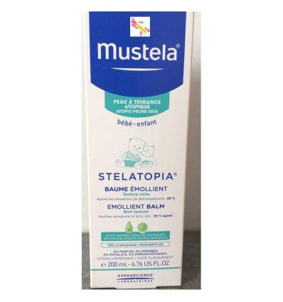 Stelatopia baume émollient 200 ml MUSTELA