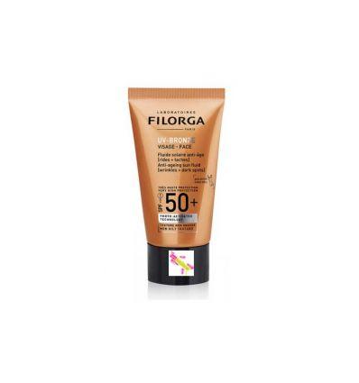 UV-BRONZE Fluide Solaire Visage SPF 50 FILORGA
