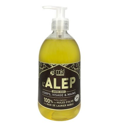 Liquid soap of Alep 500 ml - MKL
