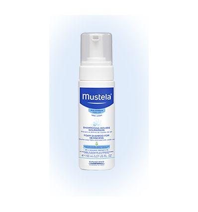 mustela shampoing mousse nourrisson