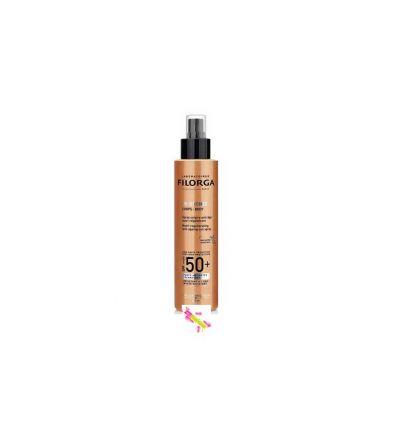 UV-BRONZE spray Solaire corps SPF 50 FILORGA anti-âge