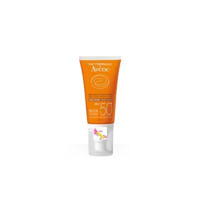Crème solaire SPF 50+ Teintée - Avène