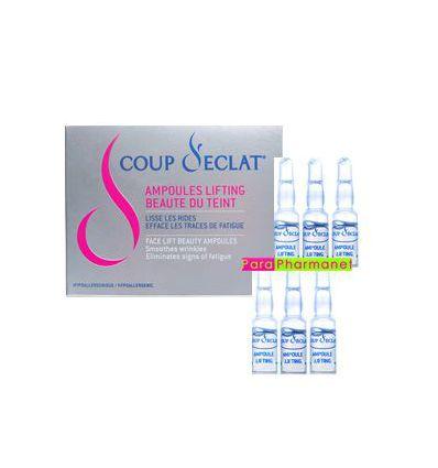 Lifting Vials face 6 vials Coup d'Eclat