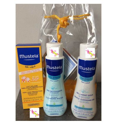 MUSTELA KIT PROTECTION SOLAIRE WE AU SOLEIL