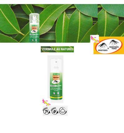 cinq sur cinq formule naturel spray anti moustiques 100 ml cinq sur. Black Bedroom Furniture Sets. Home Design Ideas