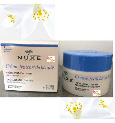 NUXE 48hr moisturising cream creme fraiche