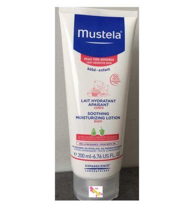 MUSTELA SOOTHING MOISTURIZING LOTION BODY VERY SENSITIVE SKIN tube 200 ml