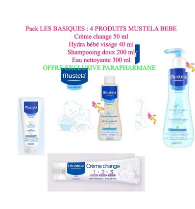 MUSTELA OFFRE SPECIALE PRODUITS PARAPHARMACIE BEBE