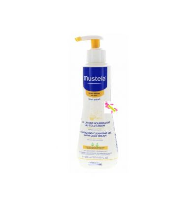 MUSTELA GEL LAVANT COLD CREAM BEBE