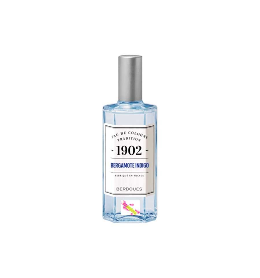 berdoues eau de cologne 1902 bergamote indigo 125 ml. Black Bedroom Furniture Sets. Home Design Ideas