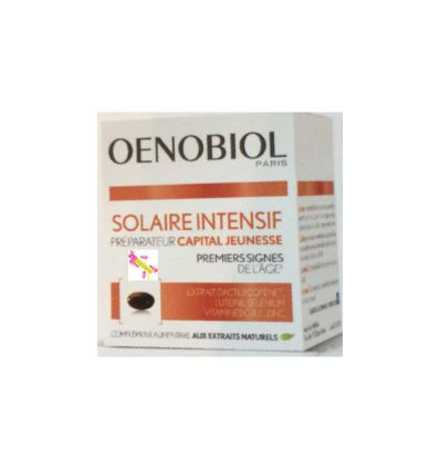 Oenobiol Solaire Intensif Anti-Age All Skin Types YOUNG CAPITAL