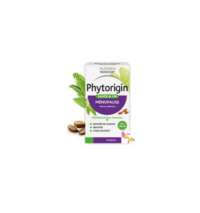 PhytOrigin 60 capsules NutreoV woman soya free menopause treatment