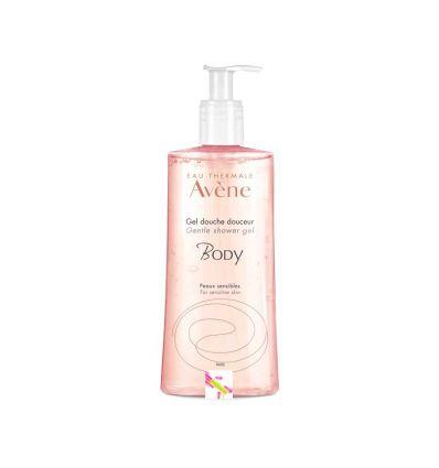 Gentle shower gel 500 ml Avène body hygien dayly care