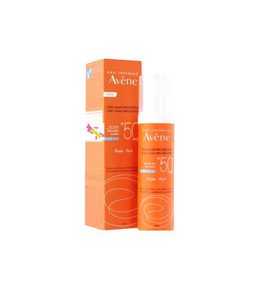 avene fluide solaire spf 50 av ne soin solaire visage 50 ml av ne p. Black Bedroom Furniture Sets. Home Design Ideas