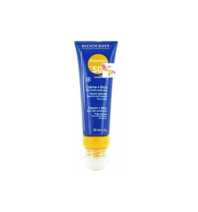PHOTODERM DUO Cream + lipstick SPF50+ Bioderma