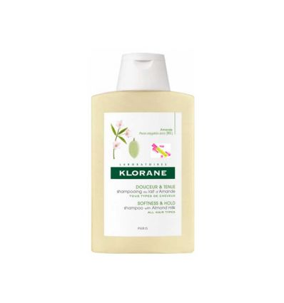 Volumising shampoo with almond milk 200 ml- Klorane
