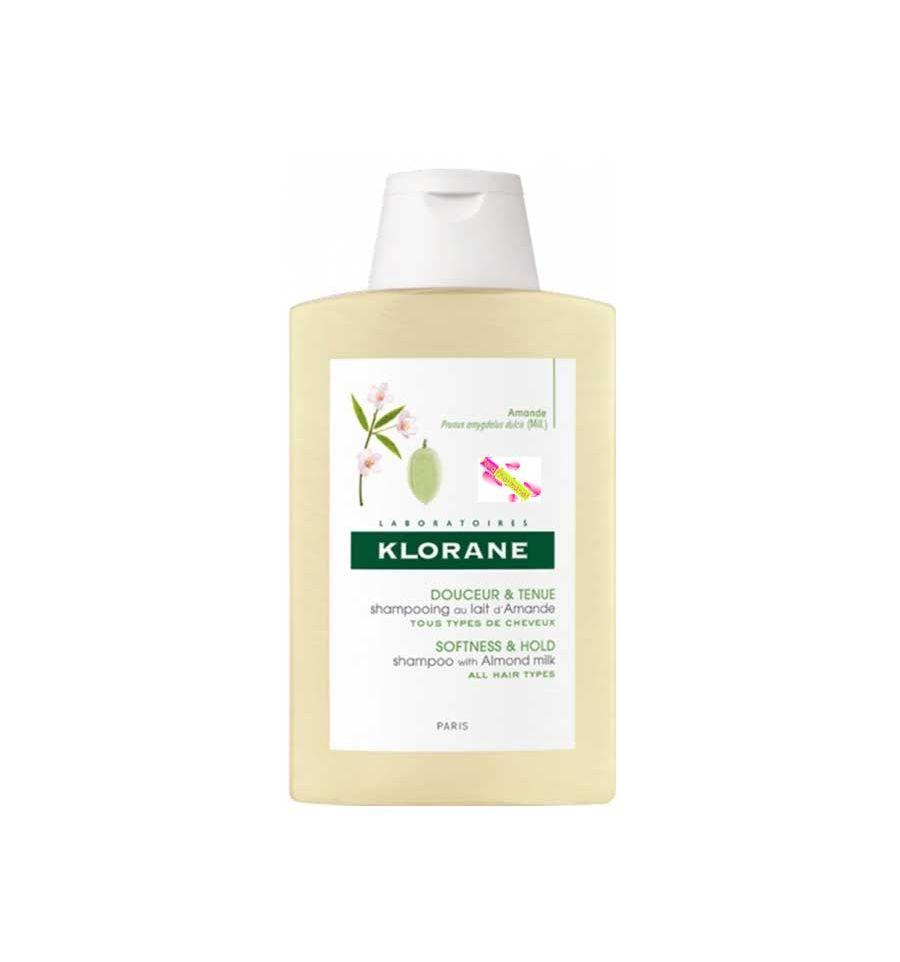 shampooing volumateur au lait d 39 amande 200 ml klorane klorane par. Black Bedroom Furniture Sets. Home Design Ideas